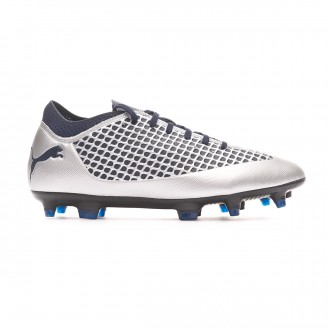 Chaussure de foot  Puma Future 2.4 FG/AG Puma Silver-Peacoat