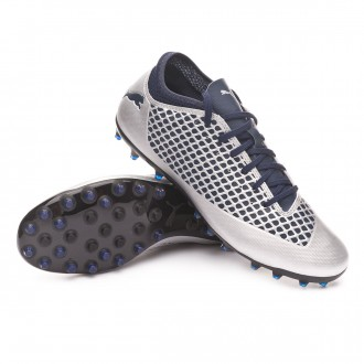 Boot  Puma Future 2.4 MG Puma Silver-Peacoat