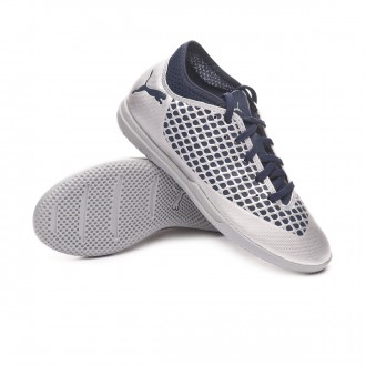 Futsal Boot  Puma Kids Future 2.4 IT Puma Silver-Peacoat