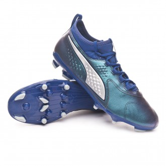 Boot  Puma Puma One 3 Leather AG Sodalite Blue-Puma Silver-Peacoat