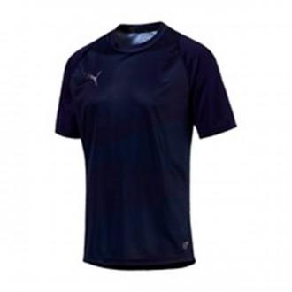 Camiseta  Puma ftblNXT Graphic Shirt Core Peacoat-Dark Denim