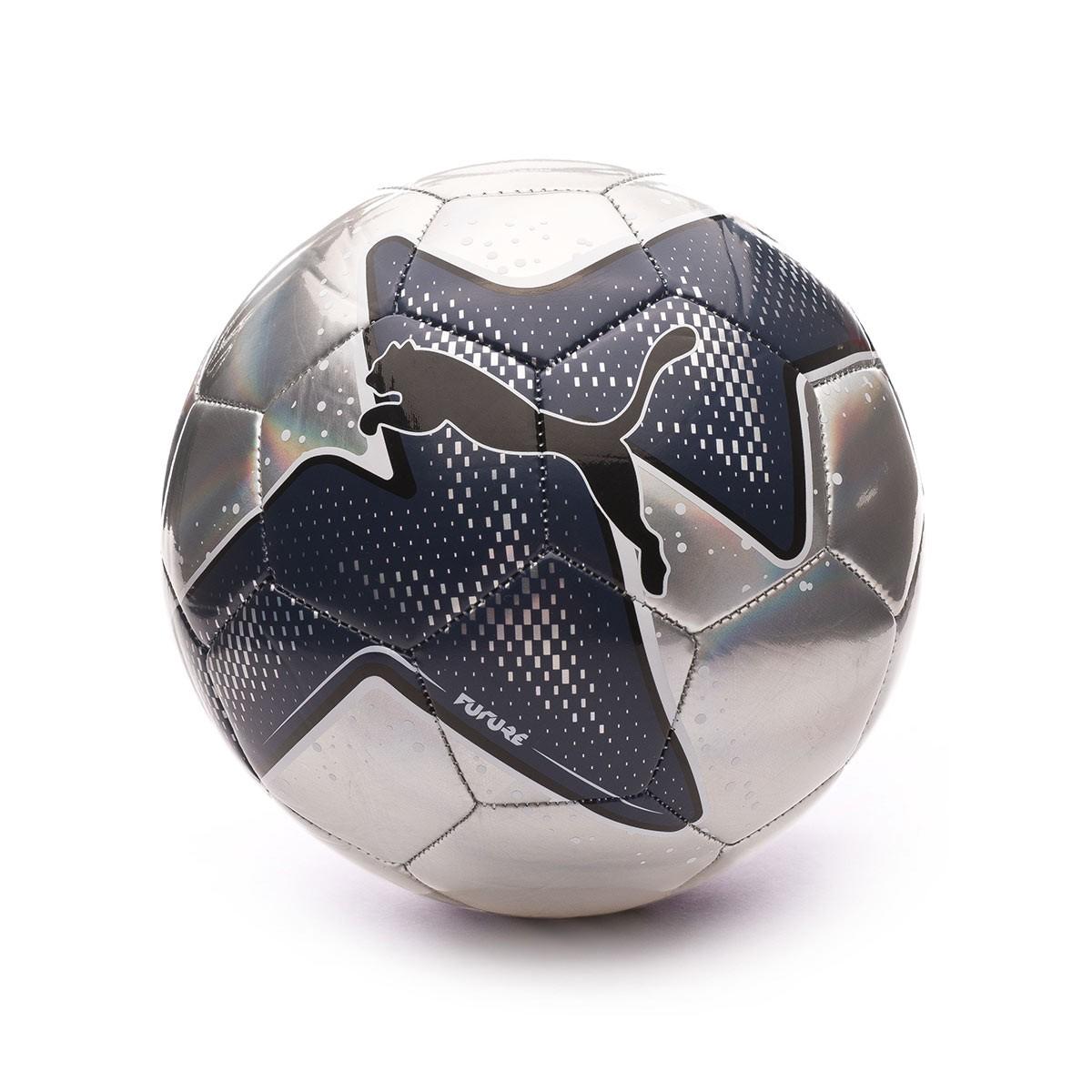 Ballon Puma Future Pulse Silver-Peacoat-Puma Black - Fútbol Emotion