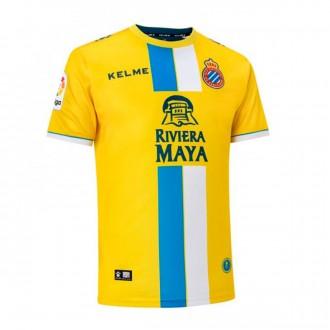 Camisola  Kelme RCD Espanyol Terceiro Equipamento 2018-2019 Amarelo