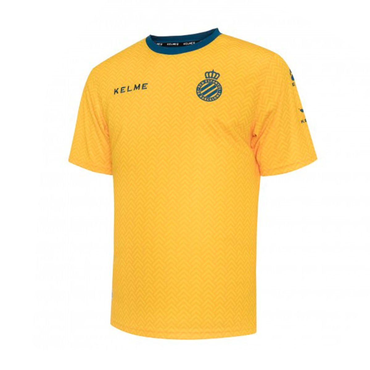 c2355b35c3e8c Jersey Kelme RCD Espanyol Training 2018-2019 Yellow - Tienda de ...