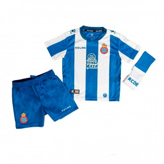 Kit  Kelme Kids RCD Espanyol 2018-2019 Home Blue-White