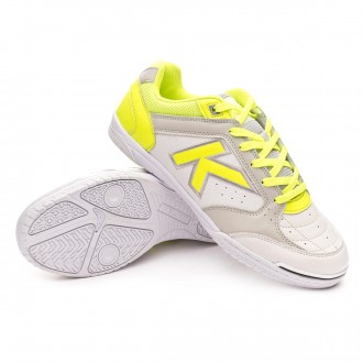 63c2ee134f2 Futsal Boot Kelme Precision Elite Exclusiva White-Volt