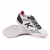 Futsal Boot Precision Elite 2.0 White-Navy blue