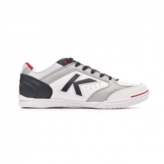 Futsal Boot  Kelme Precision Elite 2.0 White-Navy blue