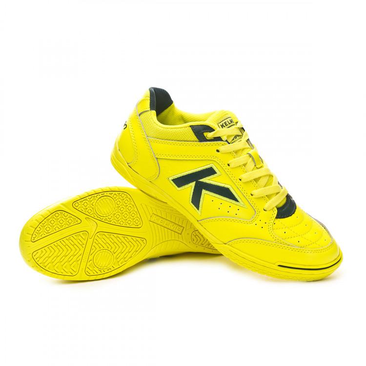 469b9fd7fbd1 Futsal Boot Kelme Precision Elite 2.0 Amarillo neon - Nike Mercurial ...