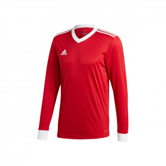 Maillot  adidas Tabela 18 m/l Power red-White