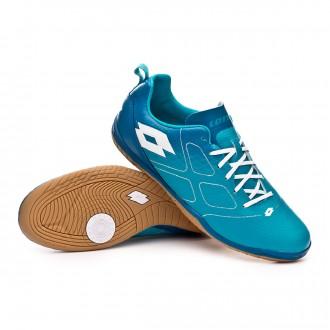 Chaussure de futsal  Lotto Maestro 700 ID Blue bird-White