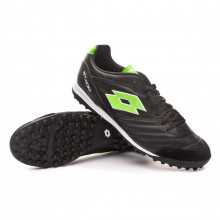 Chaussure de football Stadio 300 II Turf All black-Spring green