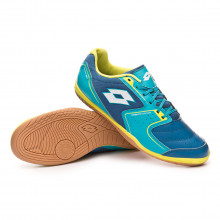 Sapatilha de Futsal Tacto 500 IV ID Gem blue-All white-Blue bird