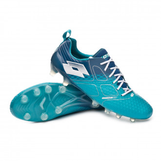 Boot  Lotto Maestro 200 FG Bluebird-All white-Gem blue