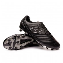Football Boots Stadio 300 II FG All black-Gravity titanium