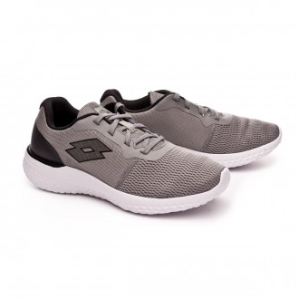 Sapatilha  Lotto Evolight Cool gray-Gravity titan-All black