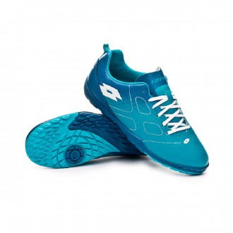 Zapatilla  Lotto Maestro 700 Turf Niño Blue bird-White