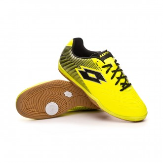 Zapatilla  Lotto Solista 700 II ID Niño Safety yellow-Black