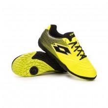 Football Boot Solista 700 II Turf Niño Safety yellow-Black