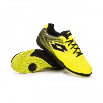 Zapatilla  Lotto Solista 700 II Turf Niño Safety yellow-Black