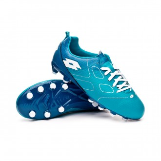 Boot  Lotto Maestro 700 FG Niño Bluebird-All white-Gem blue