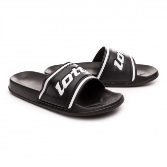Flip-flops  Lotto Midway IV All black-All white