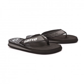 Flip-flops  Lotto Tonga Thong VIII All black-All white
