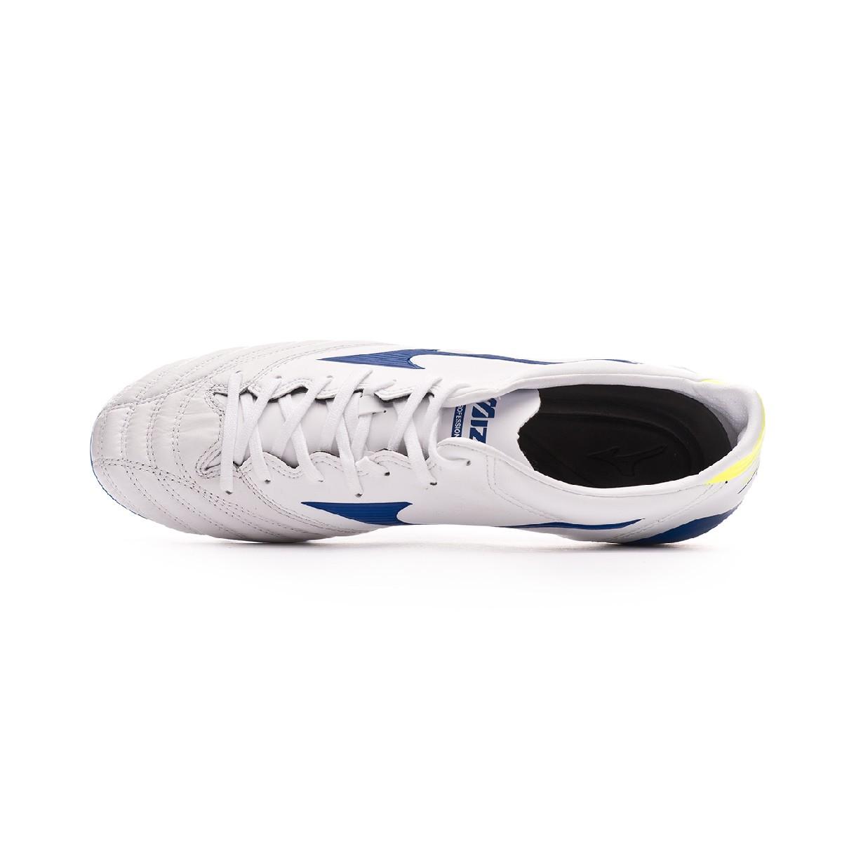 b213422f56a3a Football Boots Mizuno Morelia Neo KL II White-Wave cup blue-Safety yellow - Tienda  de fútbol Fútbol Emotion