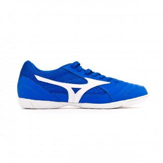 Sapatilha de Futsal Mizuno Sala Club 2 IN Blue-White-Yellow