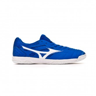 Sapatilha de Futsal  Mizuno Sala Classic 2 IN Blue-White-Yellow