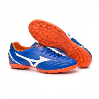 Chaussure de football Mizuno Monarcida Neo Select AS Reflex blue-White-Red orange