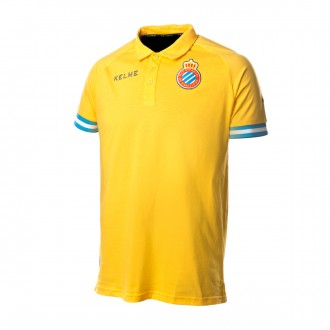 Polo shirt  Kelme RCD Espanyol 2018-2019 Yellow