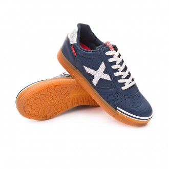 Futsal Boot  Munich Kids G3 Profit  Navy blue-White