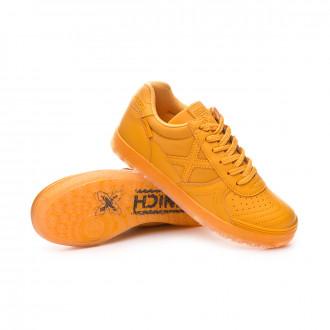 Sapatilha de Futsal  Munich G3 Monochrome Crianças Amarelo