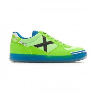 Futsal Boot  Munich Kids  G3 Glow  Lime-Blue
