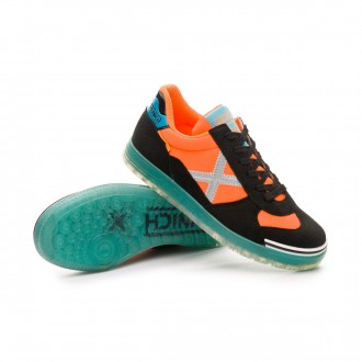 Futsal Boot  Munich Kids G3 Glow  Orange-Black