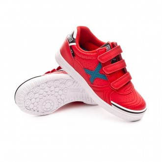 Futsal Boot  Munich Kids G3 Profit Velcro Red