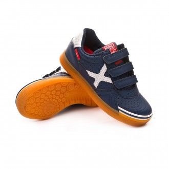 Futsal Boot  Munich Kids G3 Profit Velcro  Navy blue
