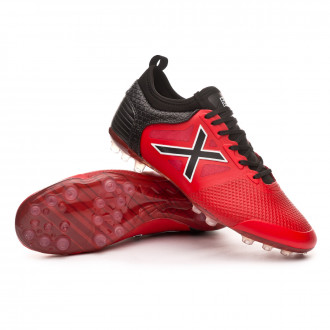 Football Boots  Munich Tiga Football AG Red-Black