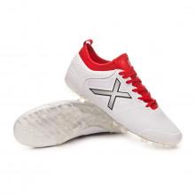 Football Boots Tiga Football AG White-Red