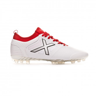 Zapatos de fútbol  Munich Tiga Football AG Blanco-Rojo