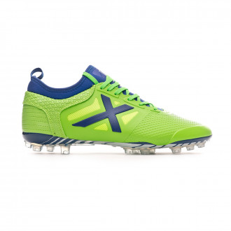 Football Boots Munich Tiga Football AG Verde flúor-Blue