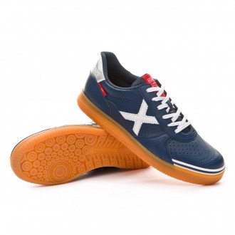 Futsal Boot  Munich G3 Profit Navy blue-White