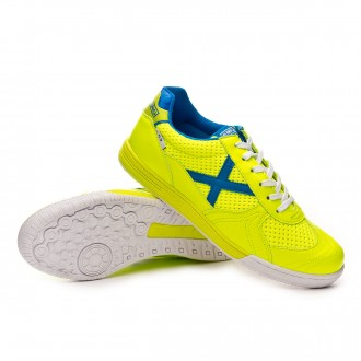 Chaussure de futsal  Munich G3 Lime-Bleu