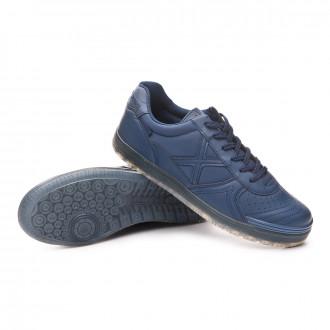 Sapatilha de Futsal  Munich G3 Monochrome Azul Marinho