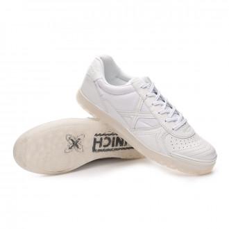 Sapatilha de Futsal  Munich G3 Monochrome Branco