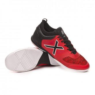 Chaussure de futsal  Munich Tiga Indoor Rouge-Noir