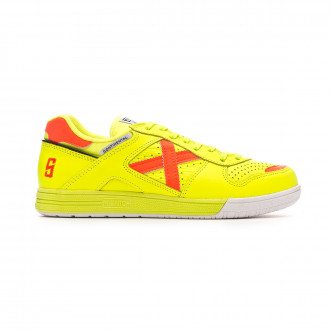 Futsal Boot  Munich Continental Sergio Lozano Fluorescent yellow-Orange