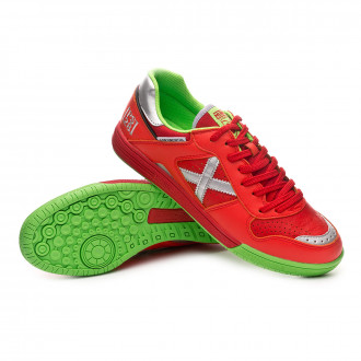 Futsal Boot  Munich Continental Paco Sedano PS28 Red-Silver