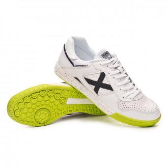 Chaussure de futsal  Munich Continental Blanc-Noir